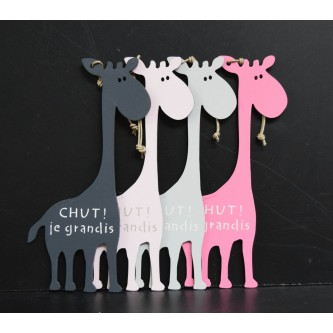 message-de-porte-girafe